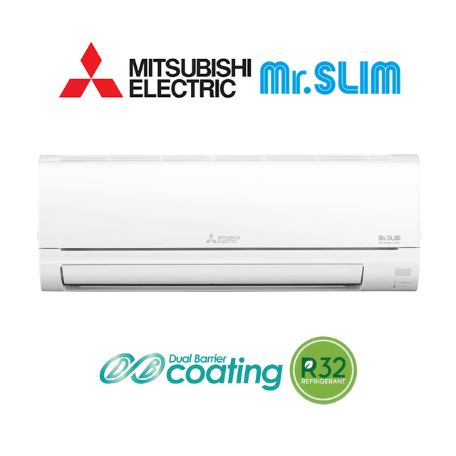 แอร Mitsubishi Electric ร น Mr Slim Econo R32 ป 2016